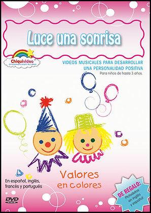LUCE UNA SONRISA DVD