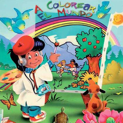 A colorear el Mundo CD