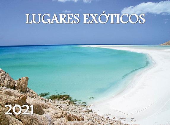 Calendario Lugares Exóticos 2021