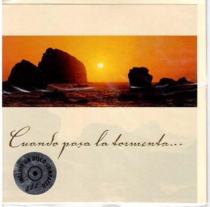 "Tarjeta con CD ""No Temas"""