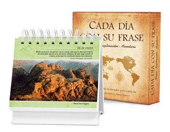 Cada día con su frase - Viajes, exploración, aventura