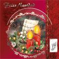 Tarjetas de Navidad con CD