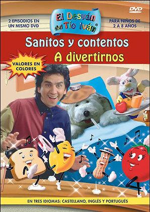 Sanitos y contentos / A divertirnos DVD