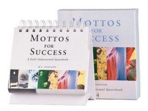 Mottos for Success 4 w/ Bible verses