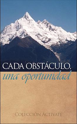 Cada obstáculo una oportunidad