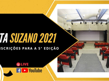 Começa o 5º Curta Suzano - 2021
