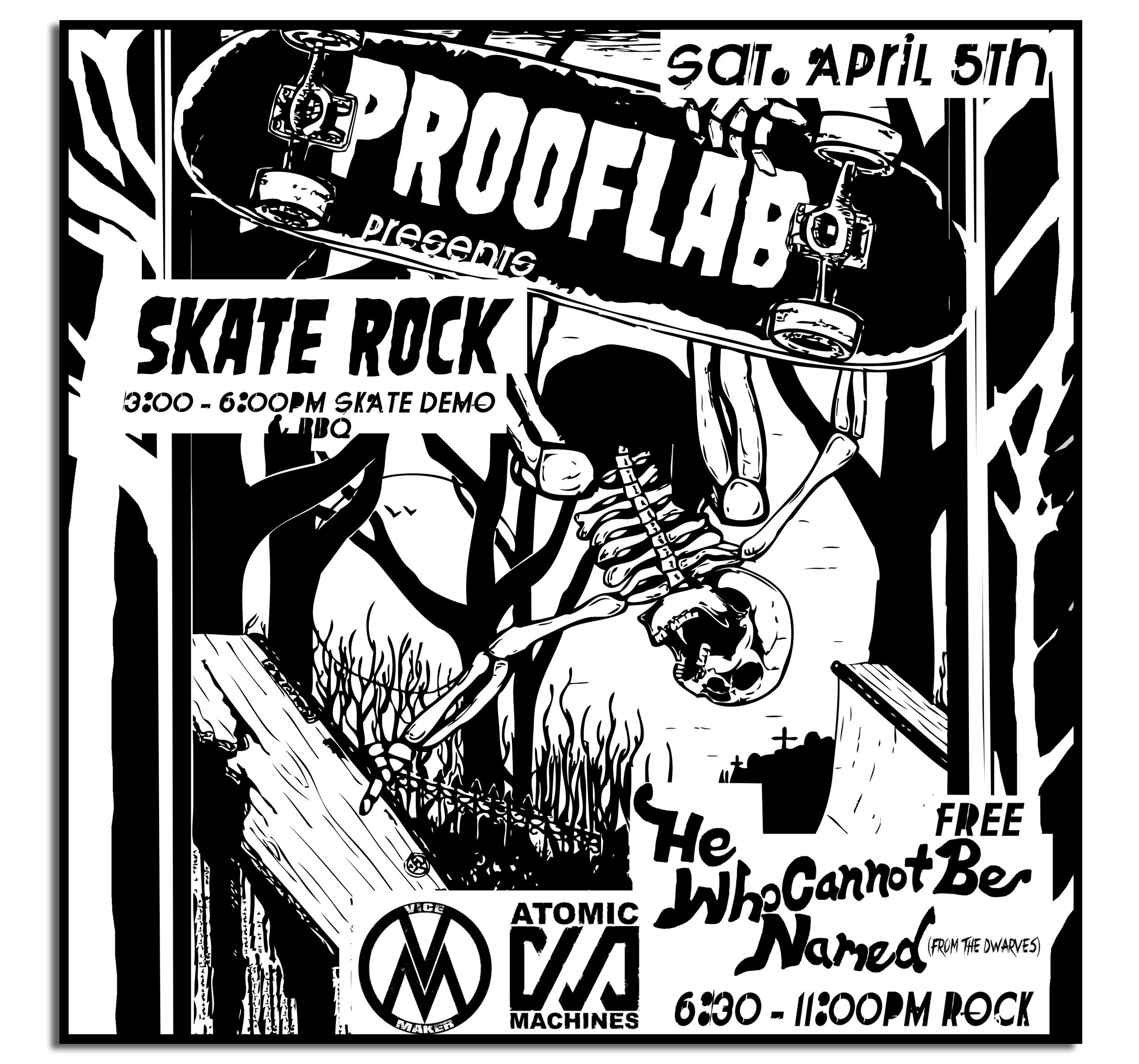 Proof Lab Skate Rock