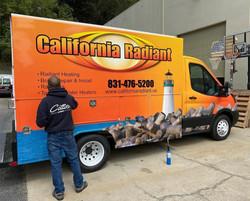 California Radiant wrap
