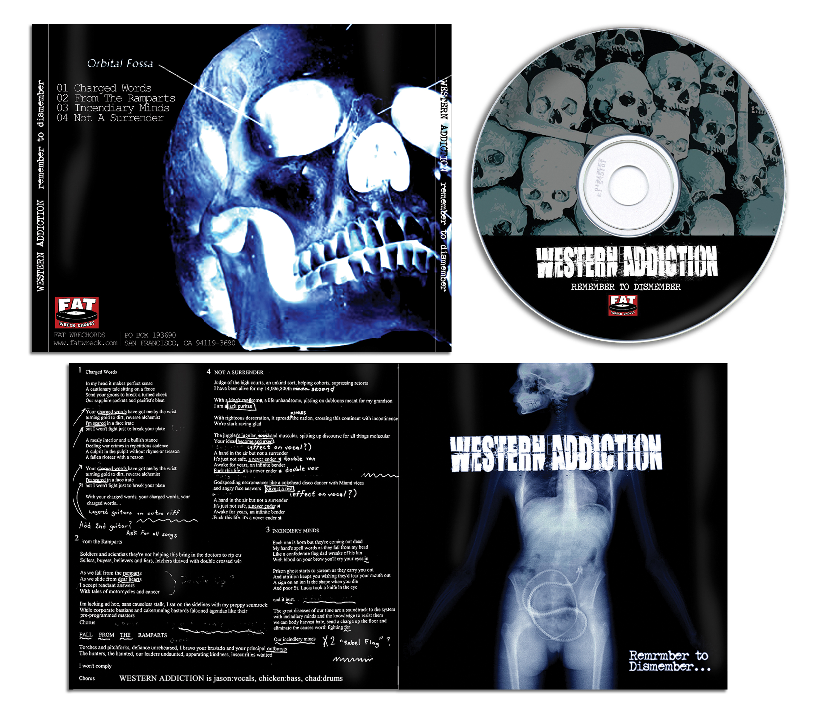 Western Addiction CD
