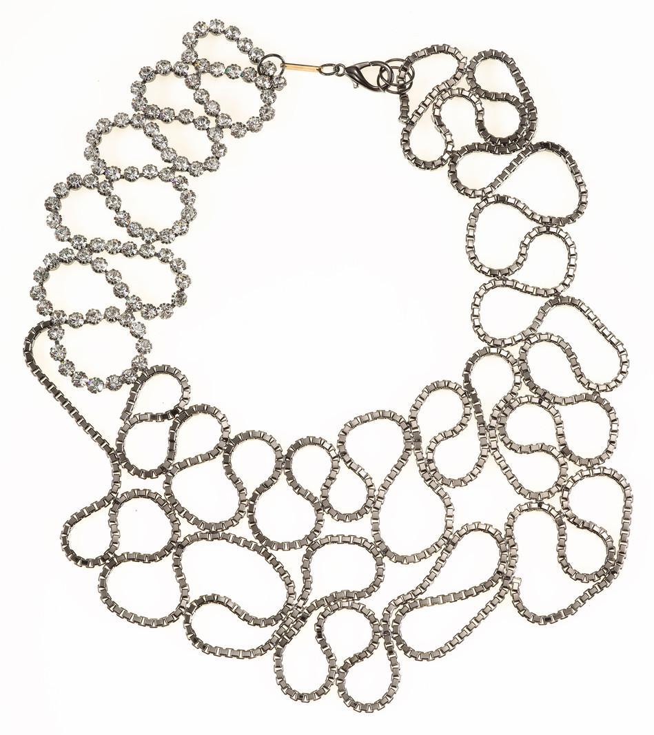 Silver Snake Necklace