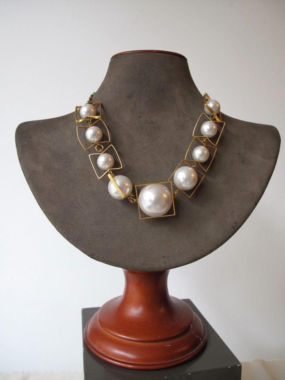 Pearl Orbital Necklace