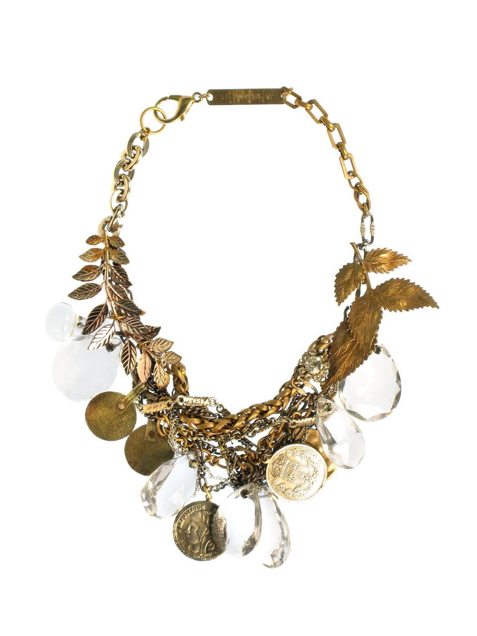 Roman Chandeleir Necklace