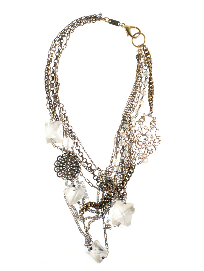 Silver Light-Touch Necklace