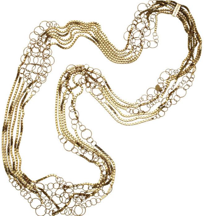 Gold Bubble Long strand