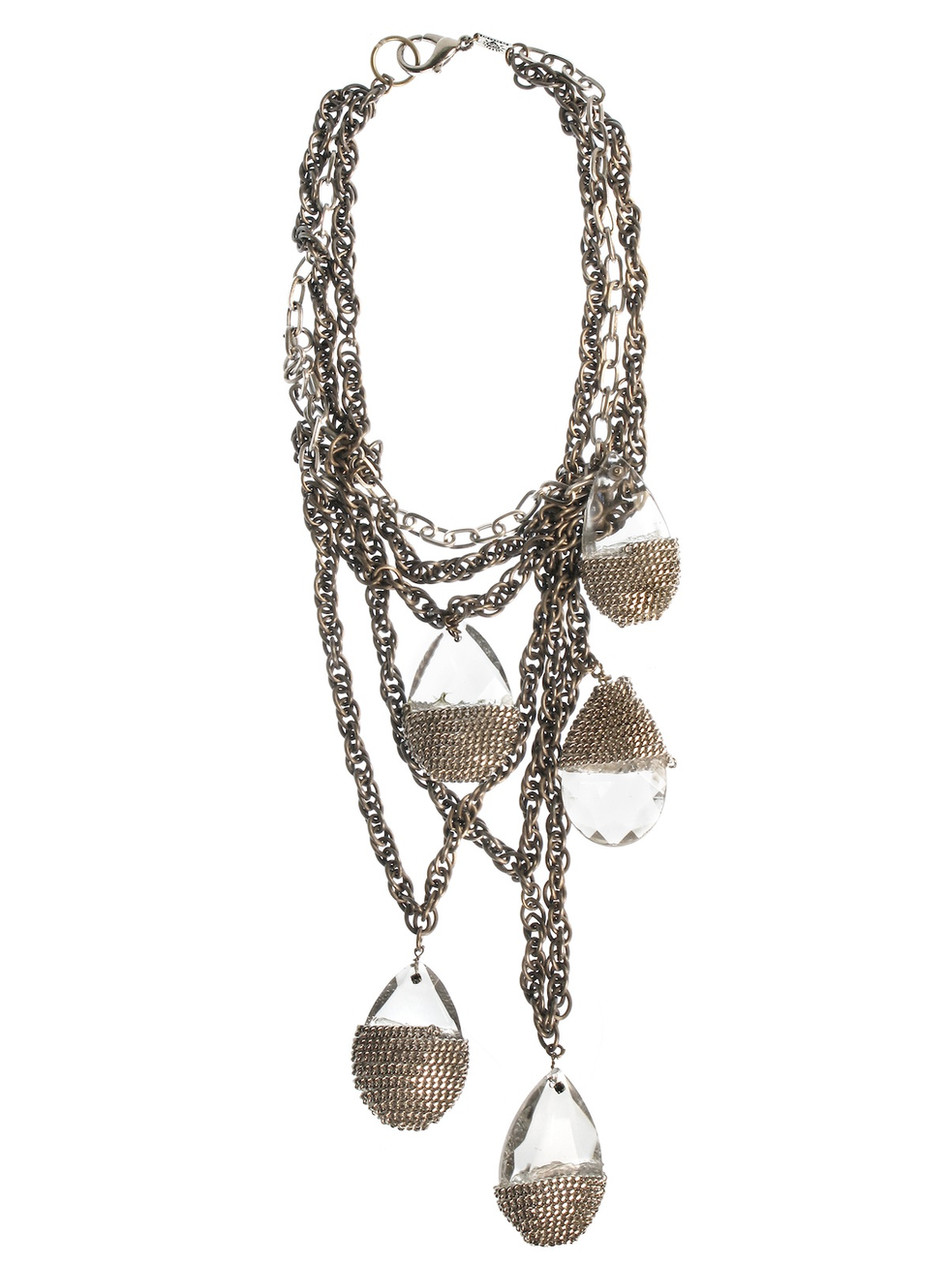 Wrapped Crystal Necklace