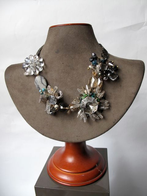 Crystal Wreath Necklace