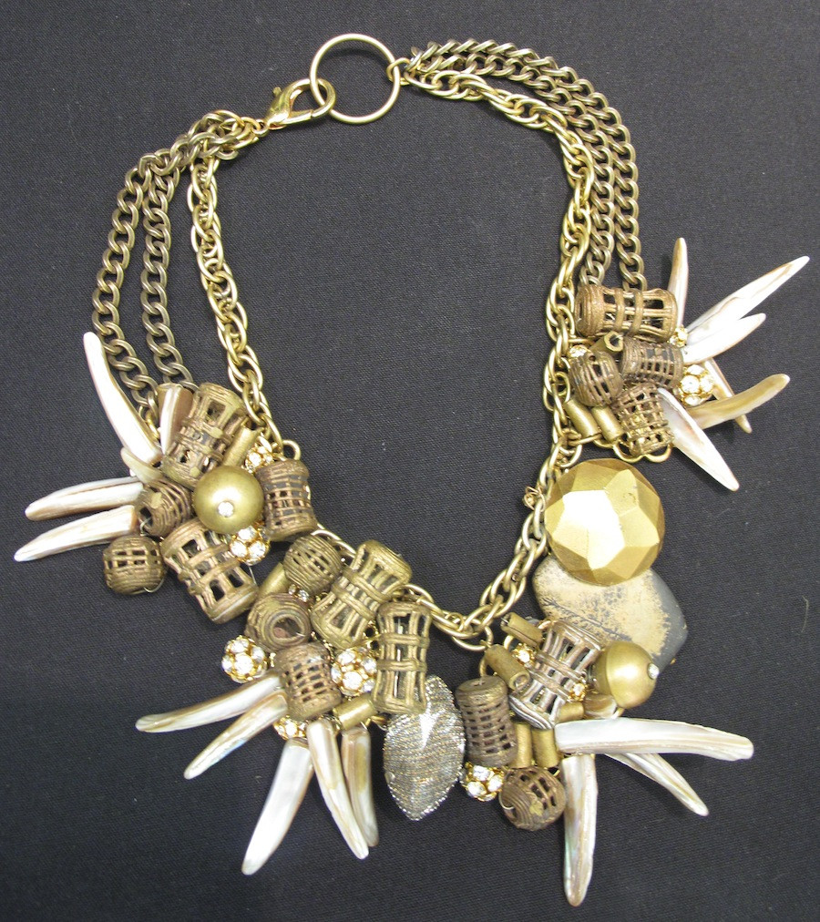 Tribal Bead Collar