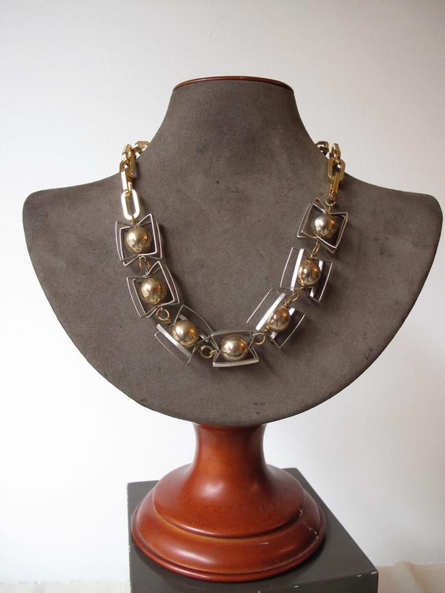 Silver Orbital Necklace