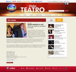 Quem Apagou a Luz - Globo Teatro 01 (TEATRO CACILDA BECKER)
