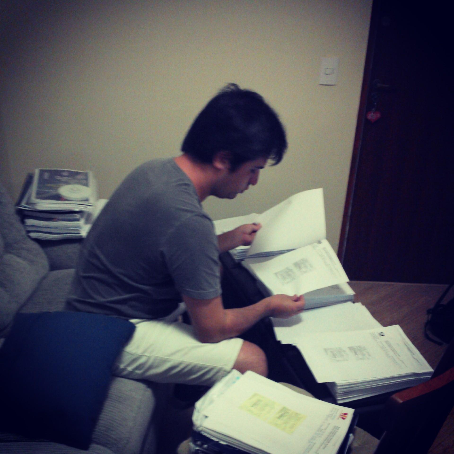 Organizando a prestação de contas - Abr/2013