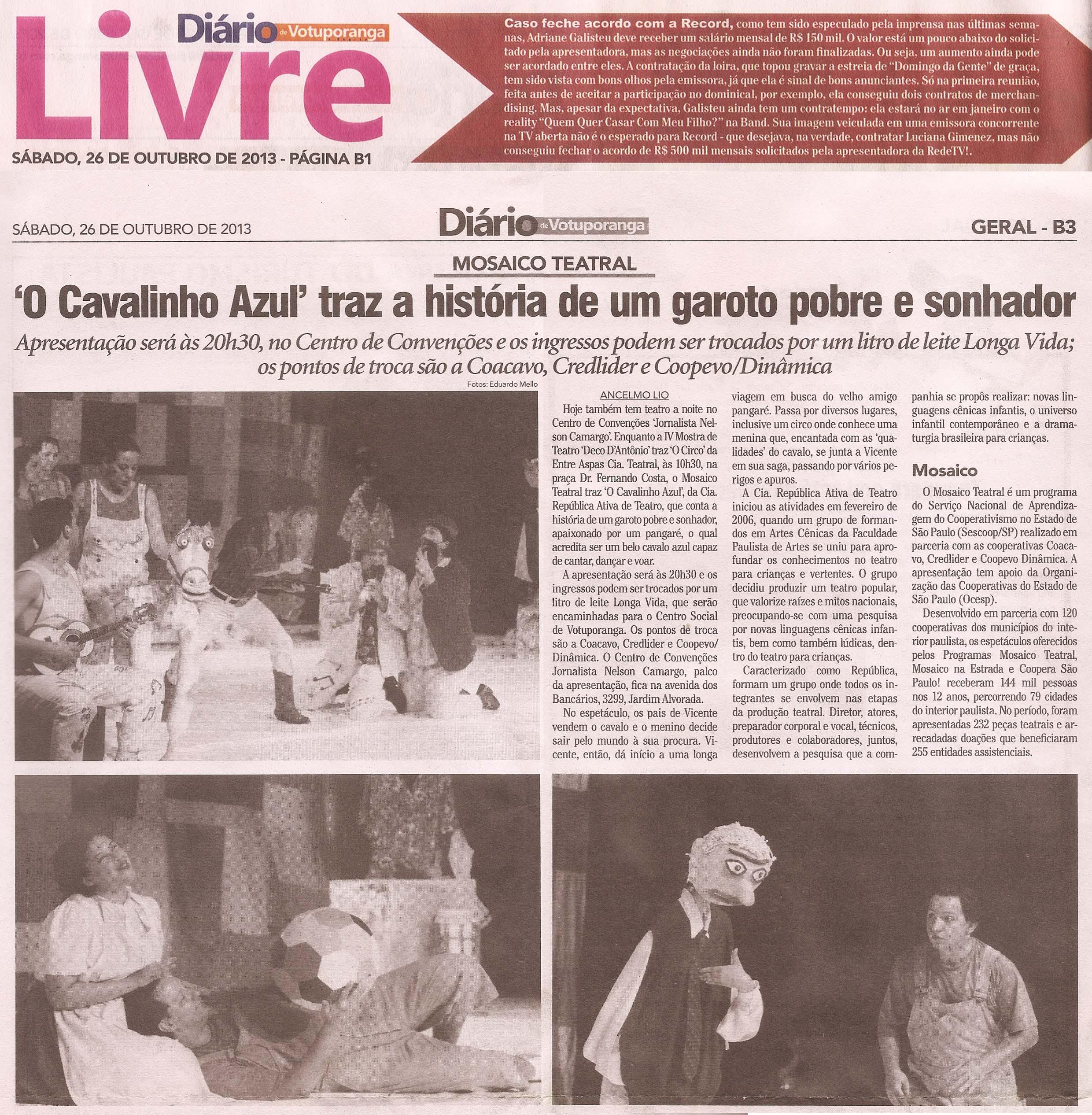 Cavalinho - Mosaico Teatral 2013
