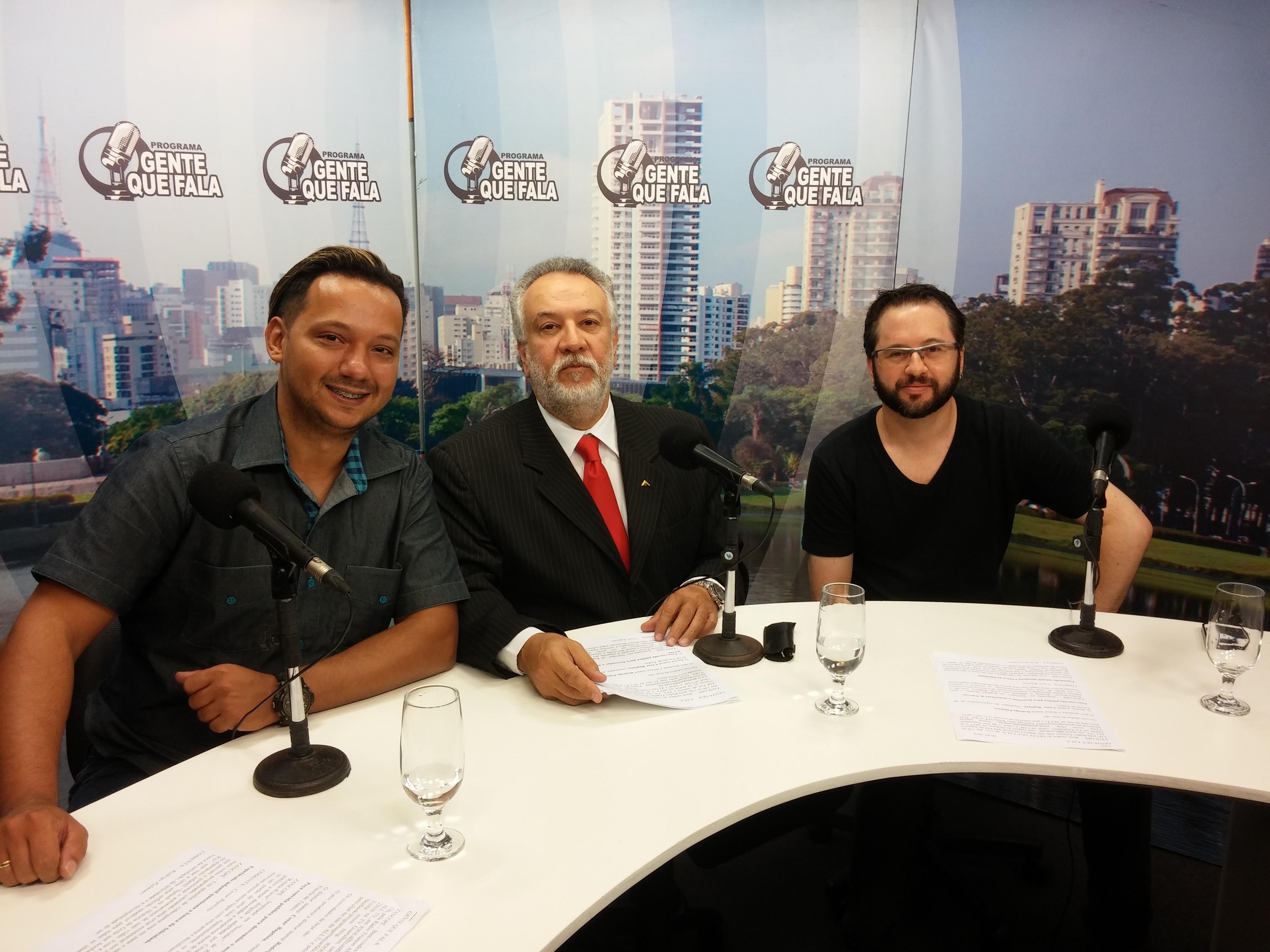 """Entre para o Programa """"Gente que Fala"""" - Jan/2016"""