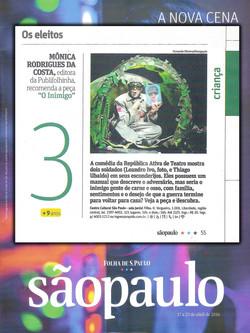 O Inimigo - Revista da Folha (CCSP)