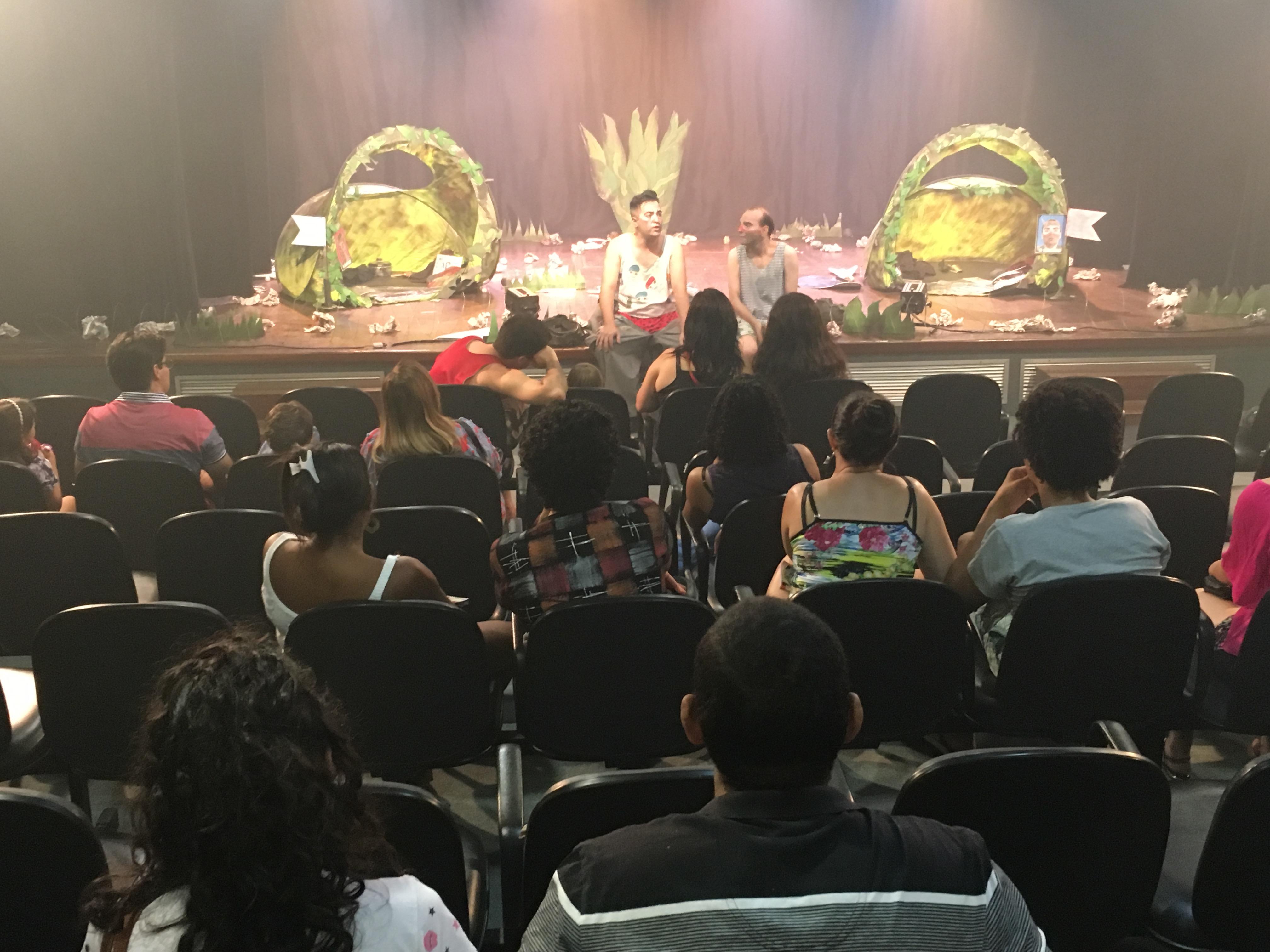 Debate após a Mostra SESC Cariri - Nov/2017