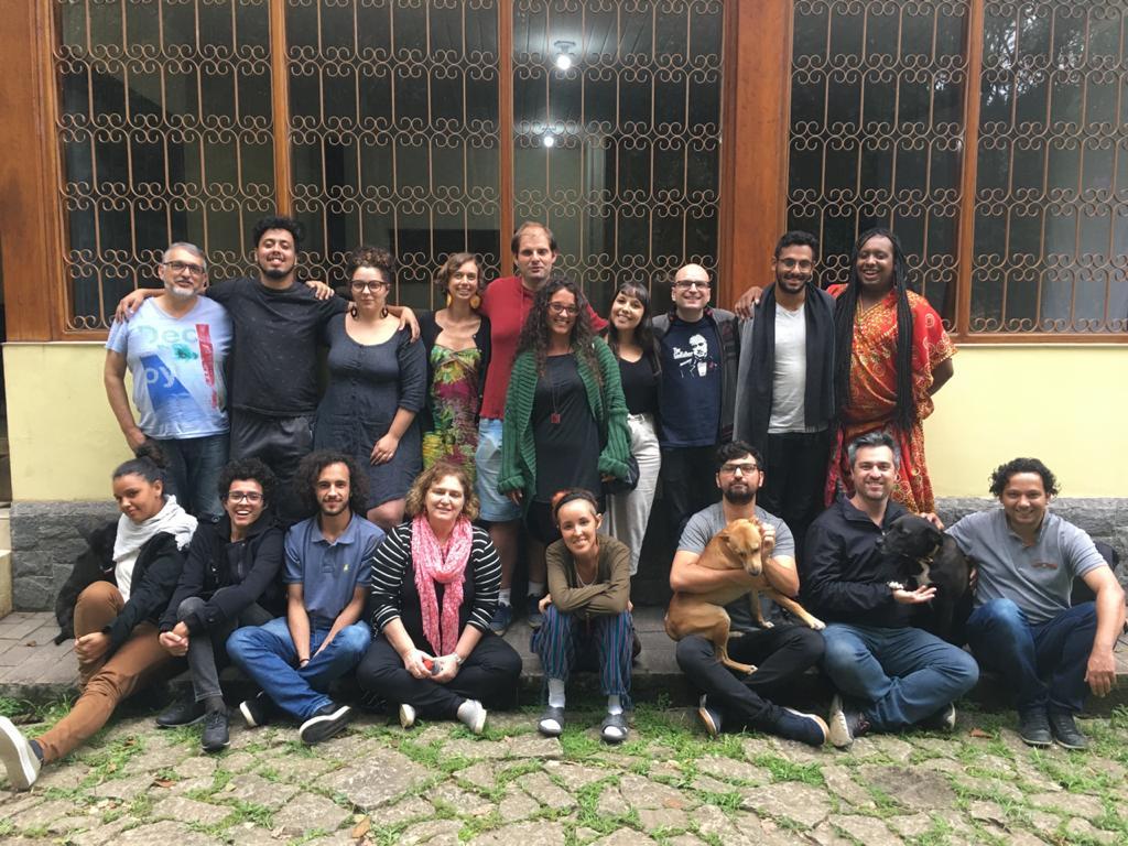 Encontro maravilhoso para discutir o teatro de Maria Clara Machado no Sítio Cultural Alsácia - Jan/2