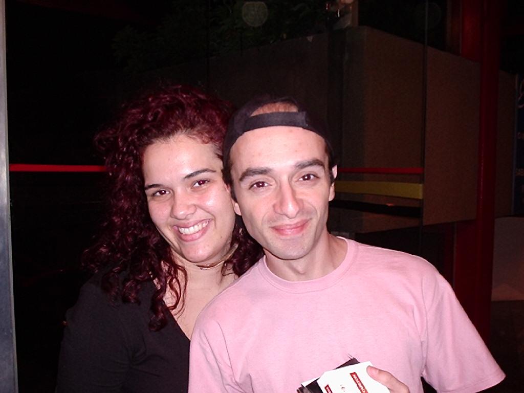 Daniely Diniz e Sidney Ferreira (co-fundador da República) - 2006