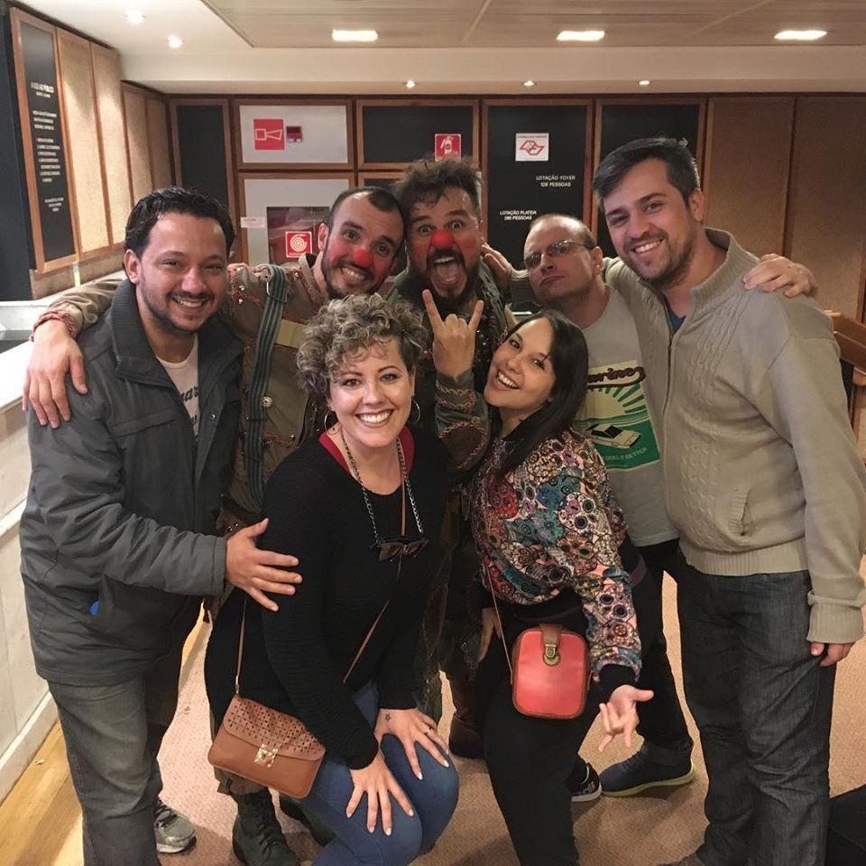 Com os queridos do Esparrama - SESC Consolação - Jun/2018
