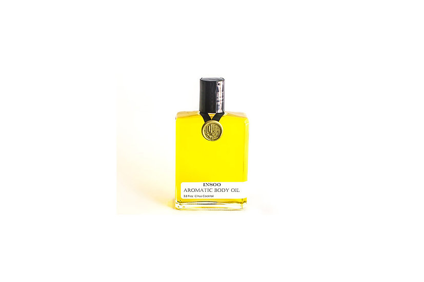 Aromatic Body Oil - Citrus Cocktail 3.8 oz.