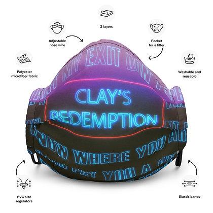 Clay's Premium Face Mask