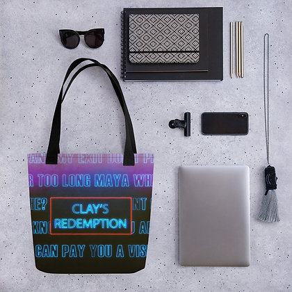 Clay's Redemption Tote Bag