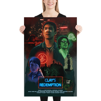 Clay's Redemption Official Poster