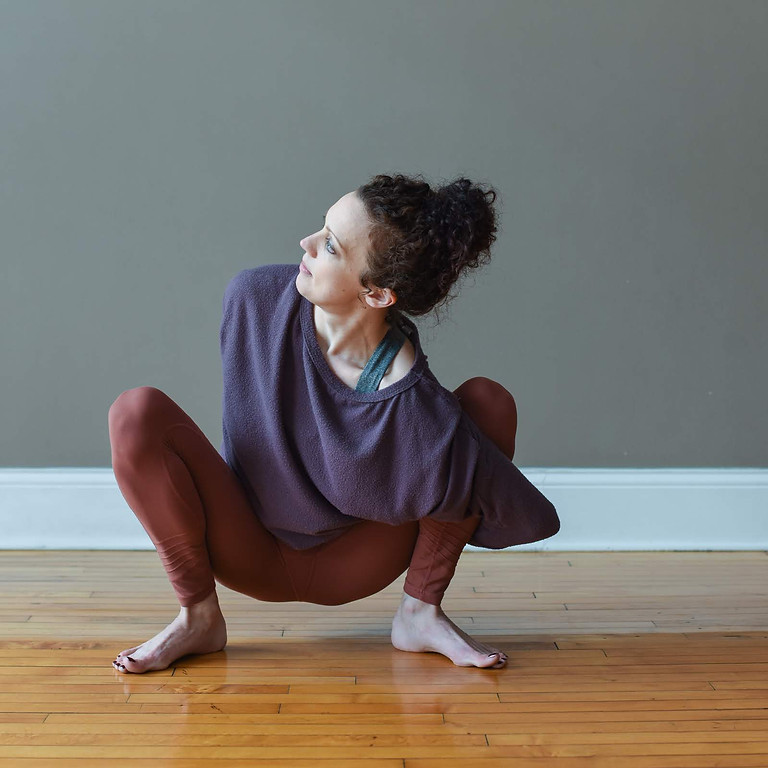 SOCIAL DISTANCING YOGA FROM HOME!