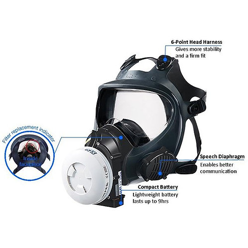 Synchro PAPR VP3 Powered Full Mask