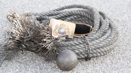 Traditional Swedish Rope, Ball and Brush