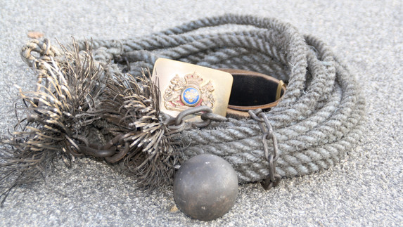 Traditional Swedish Rope, Ball and Brush