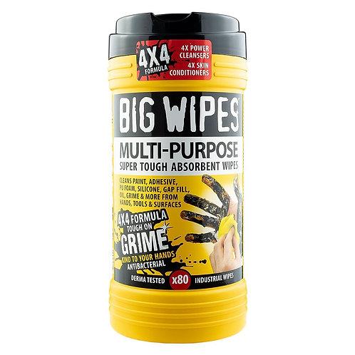 Big Wipes Multi Purpose x 80 Wipes