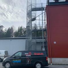 Chimney Sweep Training Ladder