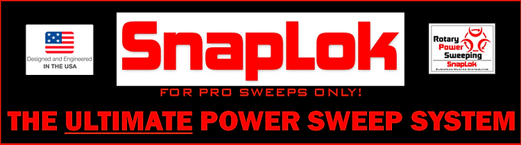 Snaplok rotary power sweeping