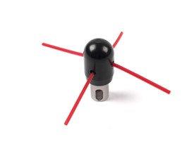 """5""""/125mm SnapLok Bullet Whip - BW-05"""