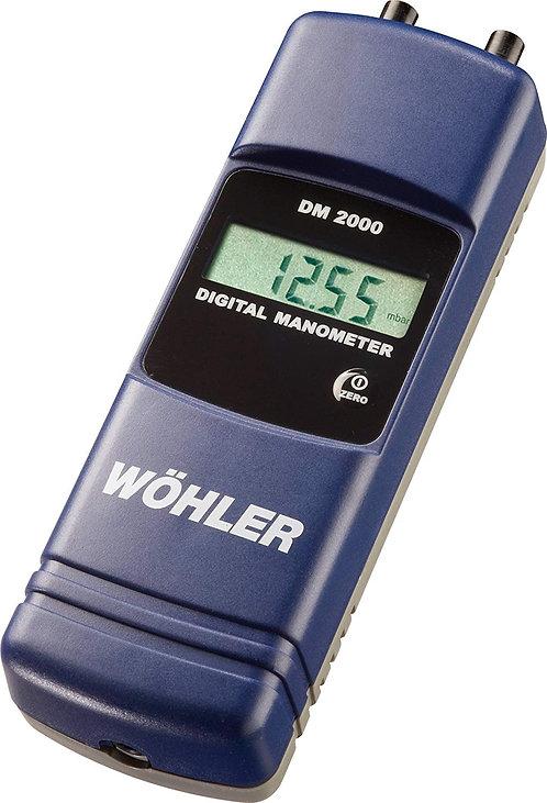 Wohler DM 2000 Flue Draught Gauge