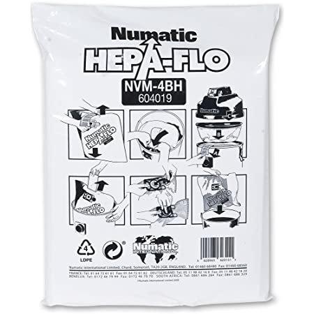 Numatic NVM-4BH Hepa Closed Bags x 10 Vacuums Genuine