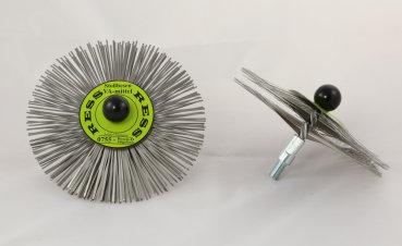 RESS Hard Steel Scraper Brush M10 Threaded - 200mm - 0746-020