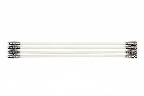 8mm Half SnapLok Solid Nylon Rod - SNR08-H