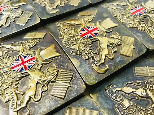 British Chimney Sweep Brass Buckle & Belt