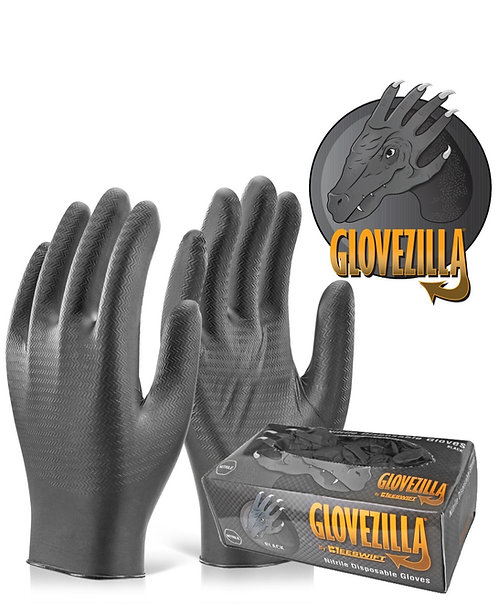 GloveZilla Nitrile Heavy Duty Gloves