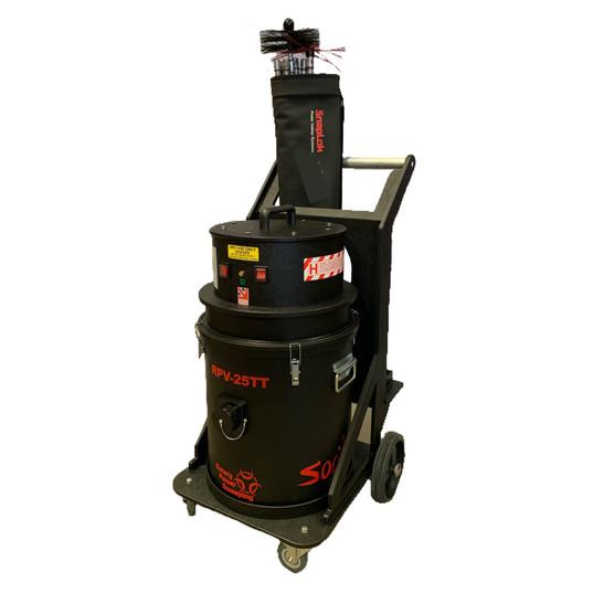 chimney sweep hepa vacuum